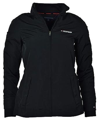 Tommy Hilfiger Damen Yachting Windbreaker Jacke Übergangsjacke Damenjacke  schwarz Größe L c377c97475