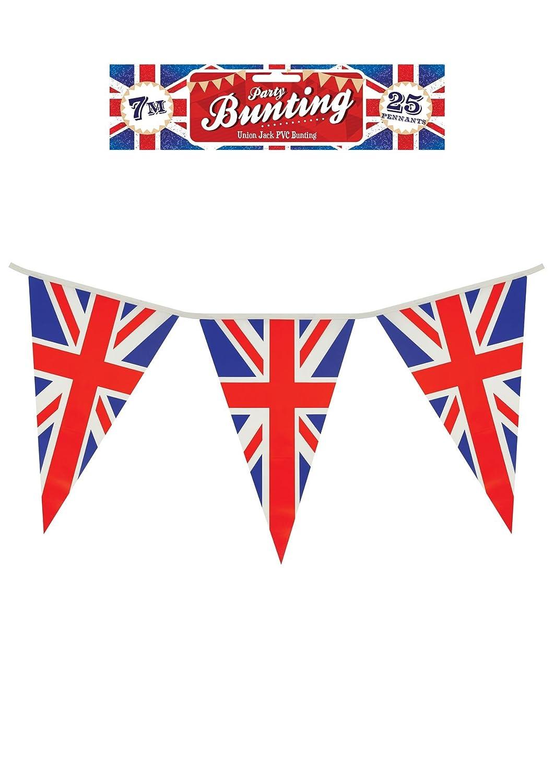 10 Metres 33ft UK Union Jack Fabric Flags Bunting