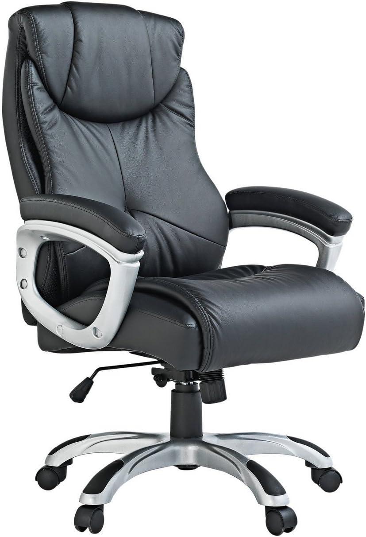 X-Rocker Executive Height Adjustable Office Chair - Black