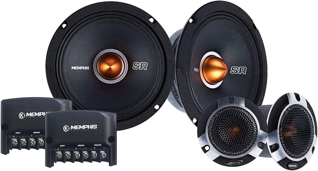 MEMPHIS CAR AUDIO COMPONENT SET FOR STEREO SOUND SYSTEM
