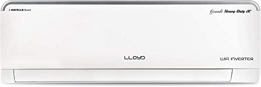 Lloyd 1.0 Ton 3 Star Heavy Duty, WiFi & Voice Enabled Inverter Split AC (LS12I35WSHD, 100% Copper, Cools at 60°C, Smart 4-Way Swing, Catechine &…