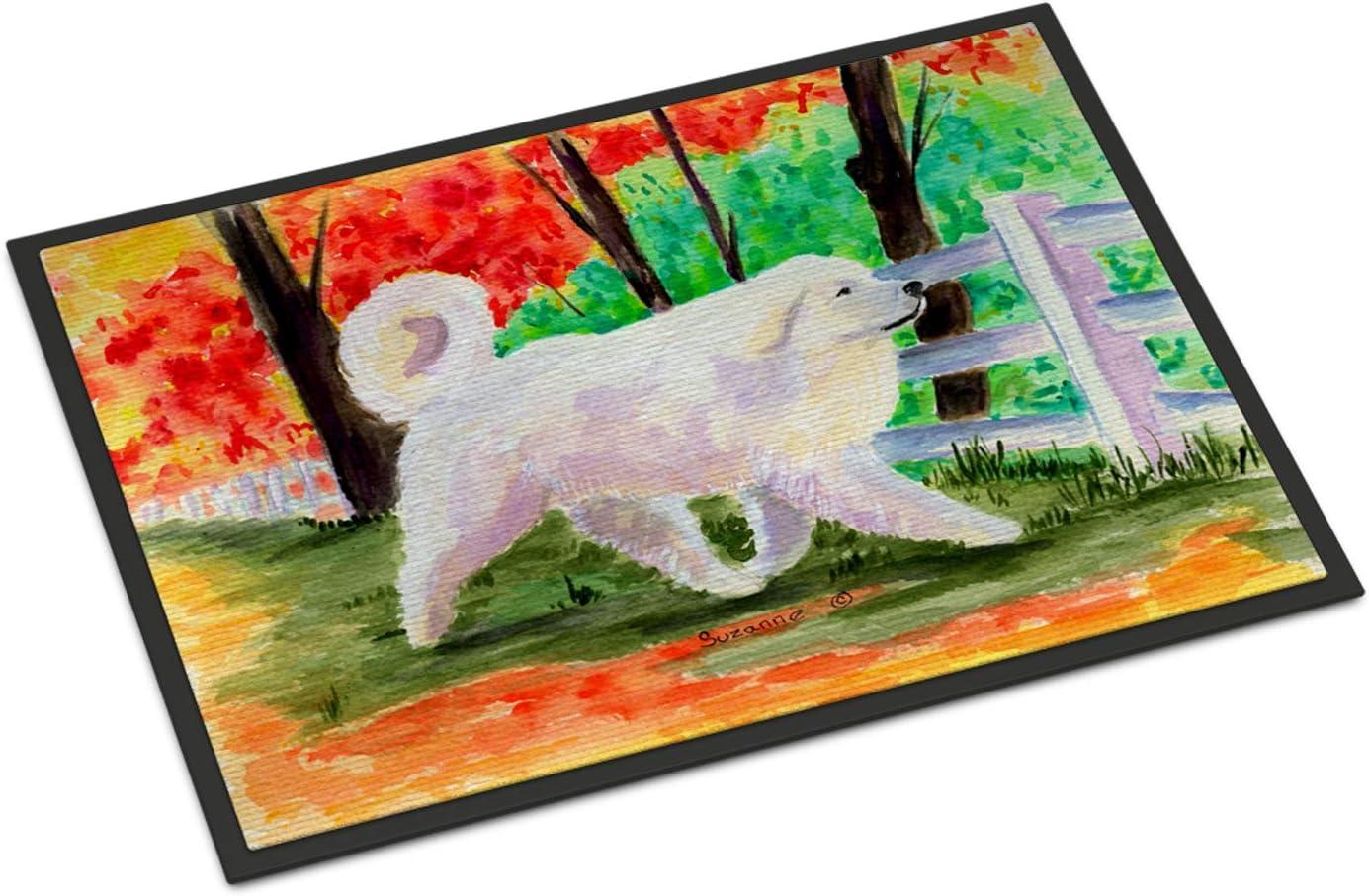 Caroline s Treasures SS8472MAT Great Pyrenees Indoor Outdoor Mat 18×27 Doormat, 18H X 27W, Multicolor