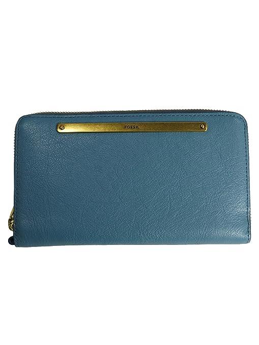 Fossil SL7878-981 - Cartera para Mujer Mujer Azul Azul 19 ...
