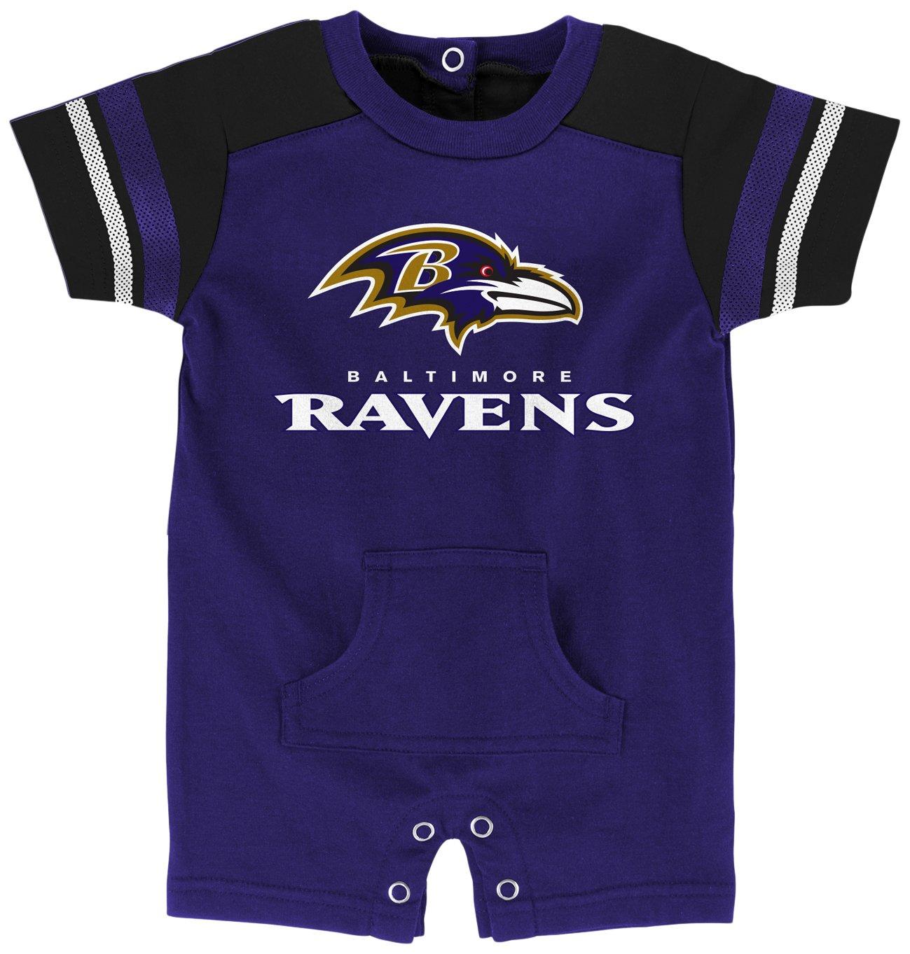 (アウタースタッフ) Outerstuff新生児&乳児用ロンパース NFLラグビー前衛風 B073WSJJ9L  6 Months 6 Months|Baltimore Ravens