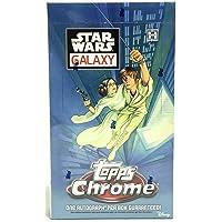 $173 » 2021 Topps Star Wars Chrome Galaxy HOBBY Trading Card box (24 pks/bx)