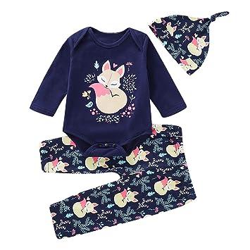PeiXuan2019 Conjunto de Ropa para bebés y niños pequeños ...