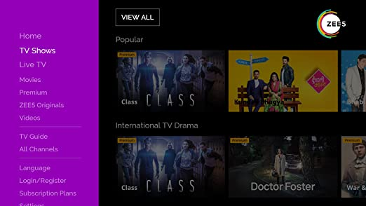 Amazon com: ZEE5 Movies Shows LIVE TV Originals: Appstore for Android
