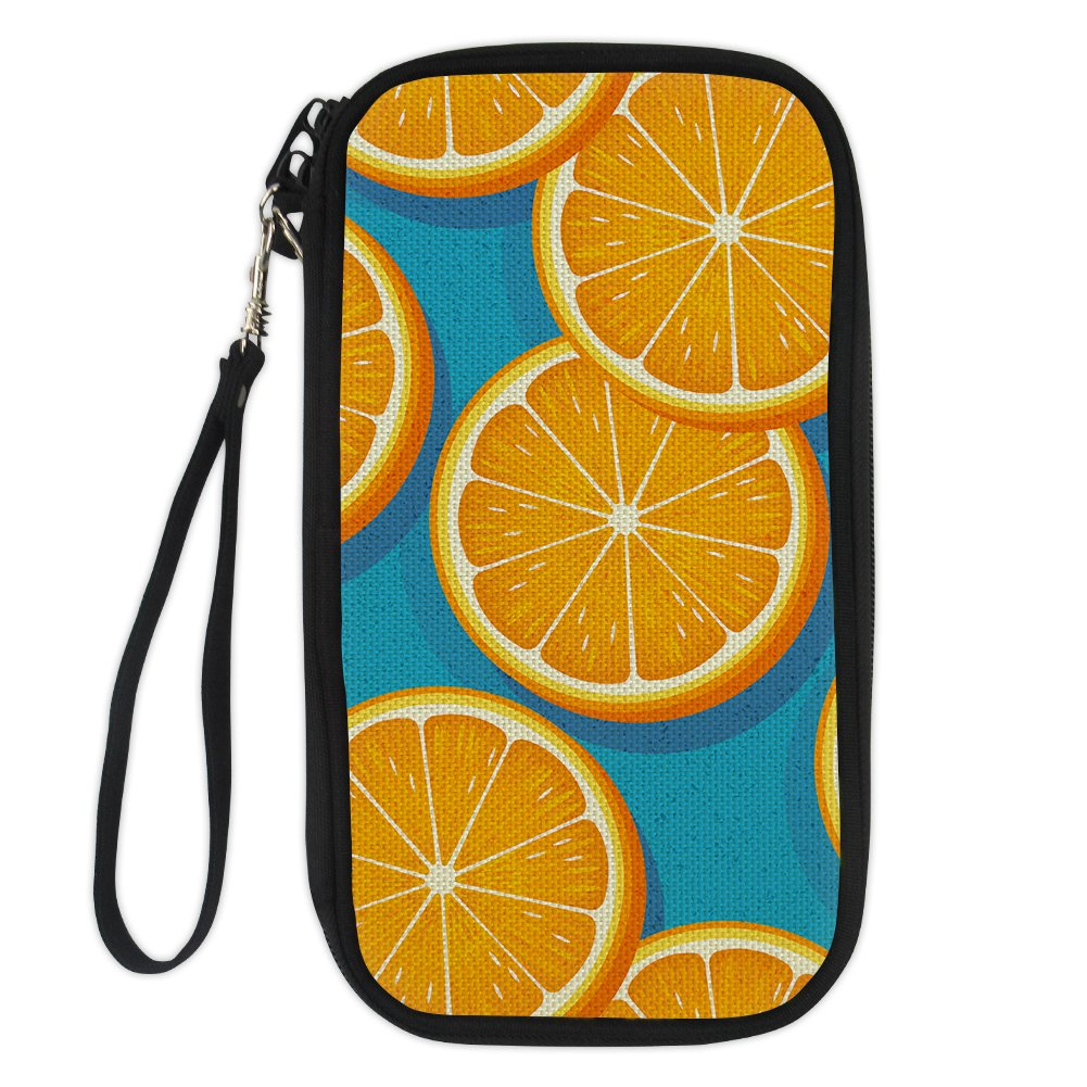 Bigcardesigns National Style Passport Holder Polyester Travel Wallet