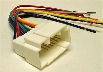 7100Z 6AfwL._SX355_ amazon com wire harness for installing a new radio into a honda