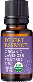 product image for Desert Essence Organic Essential Oil - Lavender Tea Tree Oil - 0.6 Fl Oz - Relaxing Aromatherapy - Soothes and Calms Skin - Freshens Laundry - House Cleanser - Relaxing - Vegan - USDA Certified
