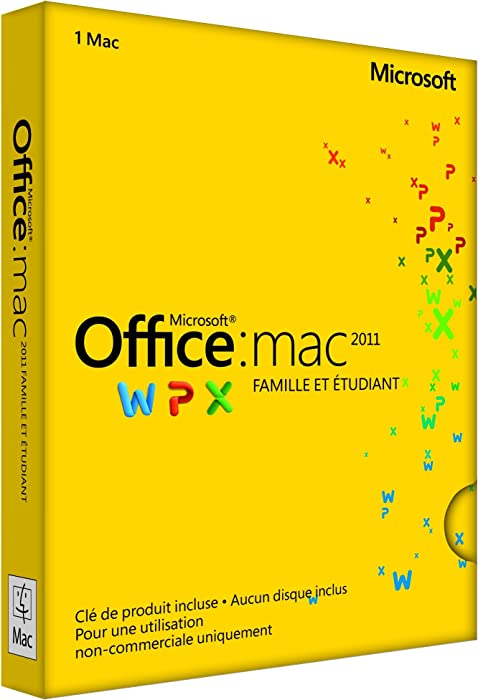 Top 10 Microsoft Office Mac Home  Student 2011