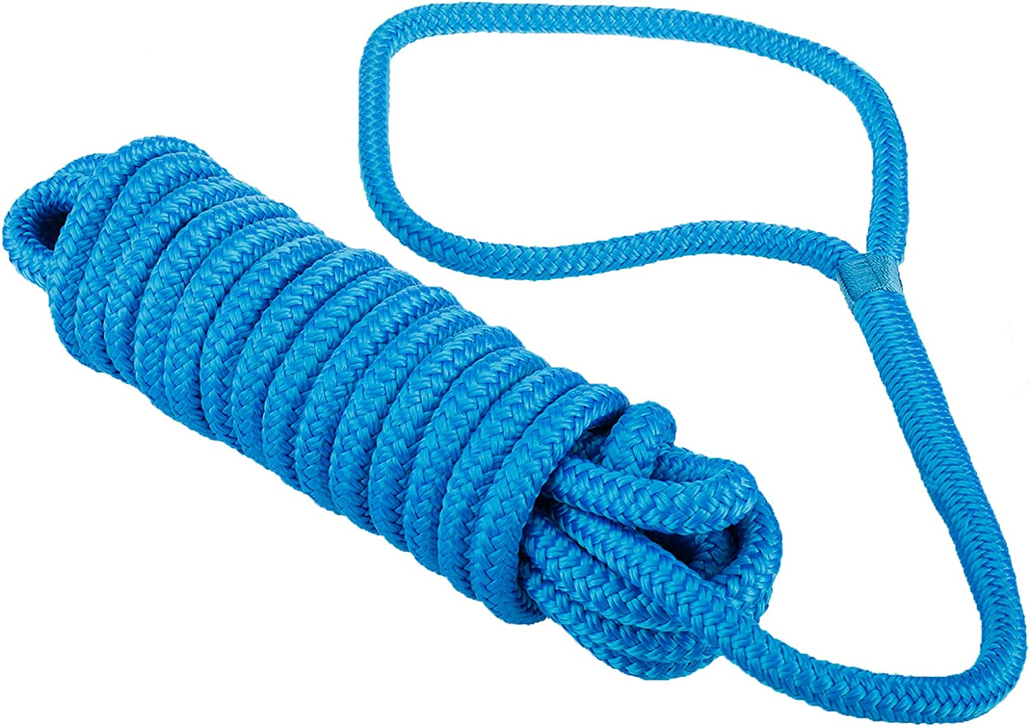Details about  /Amarine Made Boat Marine Double Braided Nylon Dock Line Mooring Rope Anchor Line