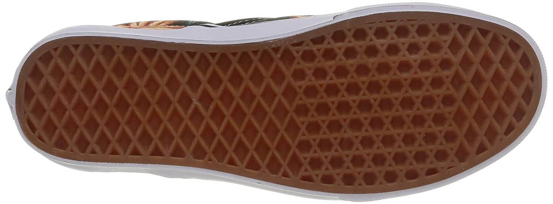Vans Unisex Classic (Checkerboard) Slip-On Skate Shoe B00V6K7DBM Mens 7.5 / Womens 9|Black