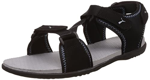 d7c552b7c710a0 Puma Unisex Royal Idp Black and Quarry Athletic   Outdoor Sandals - 10  UK India