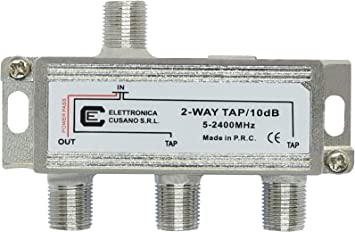 Elettronica Cusano 9233-10 - Derivador satélite de 2 salidas ...