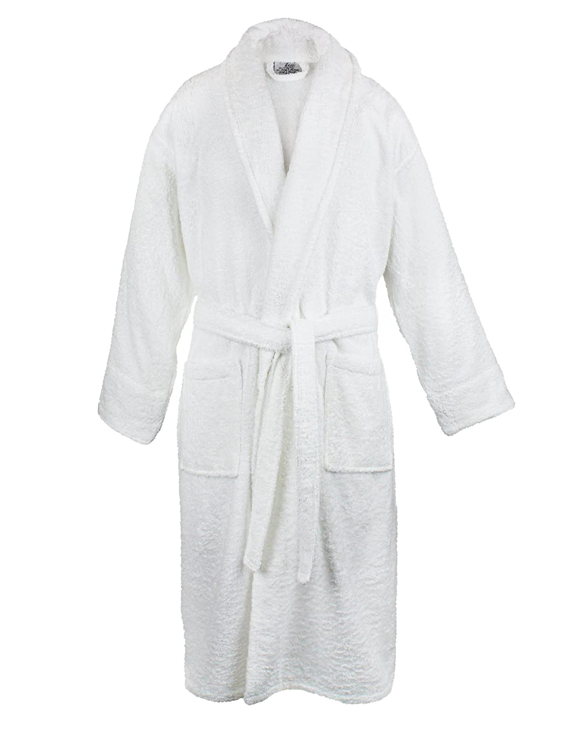 Bare Cotton Men Terry Shawl Robe, Small/Medium, Royal Blue 4000-1003-02