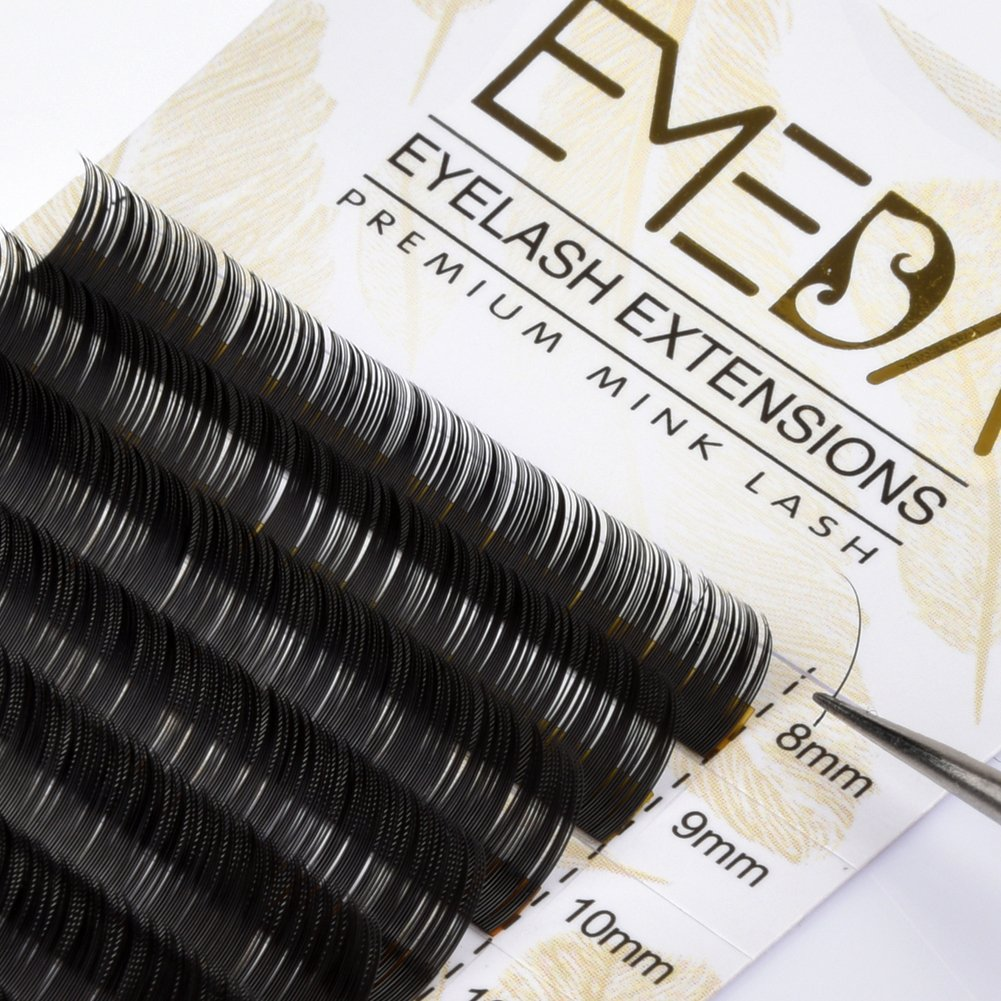 e1bff7e9a35 Faux Mink Lash Extension C Curl Eyelash Extensions Individual Lashes Strip  .05 Thickness 8 9 10 11 12 13 14 15mm Mix Length Lashes Tray by EMEDA:  Amazon.ca: ...