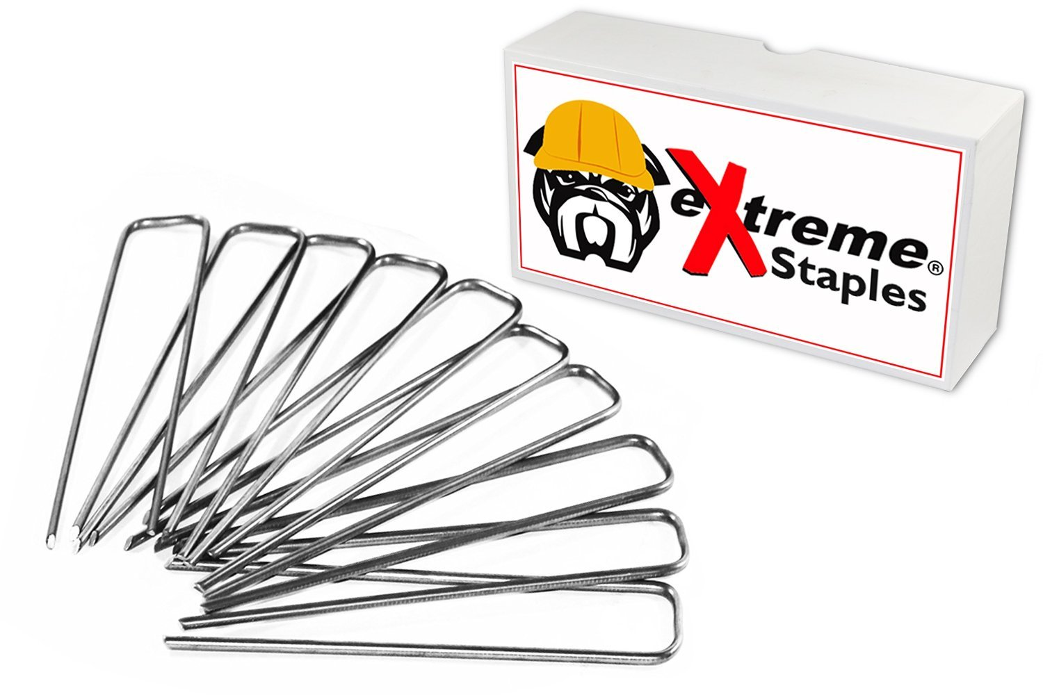 eXtreme Dog Fence Brand Fabric and Garden Staples - 500 Count by Extreme Dog Fence