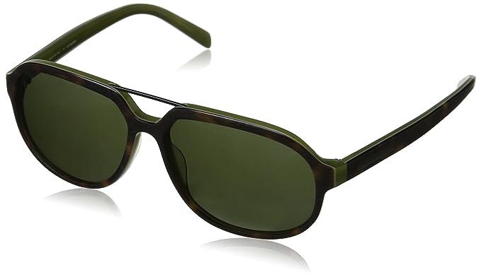 Jill Sander Herren Sonnenbrille S685S,, Gr. One size,Grau (Havana/Olive)