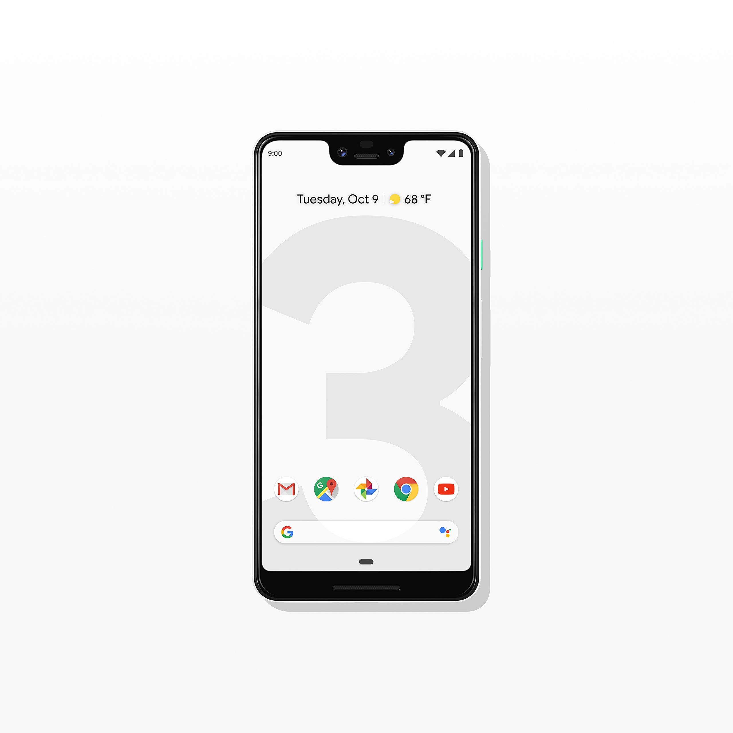 Google – Pixel 3 XL with 64GB Memory Cell Phone (Unlocked) – Clearly White