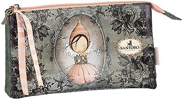 safta 811913744 Mirabelle Santoro - Estuche Triple Escolar, Multicolor: Amazon.es: Equipaje