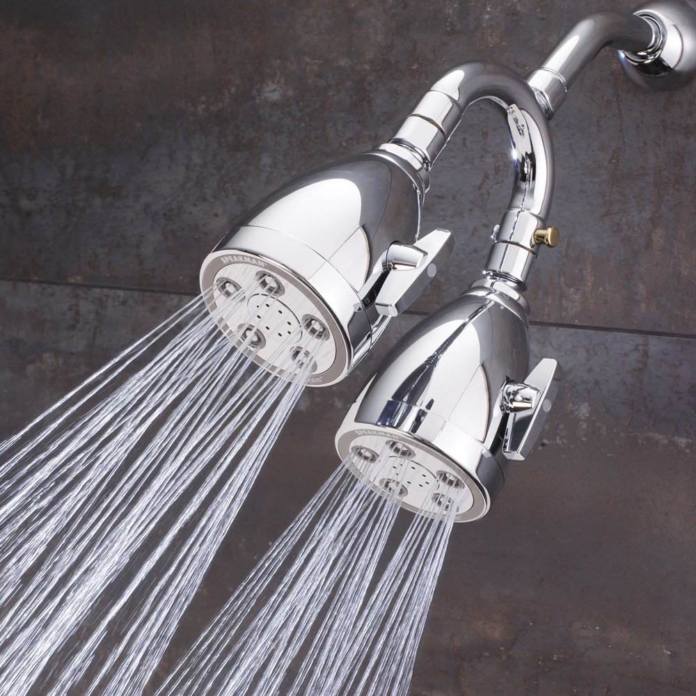 Speakman S-2222-HS-CP-I Heavenly Anystream 360 Dual Shower Head ...