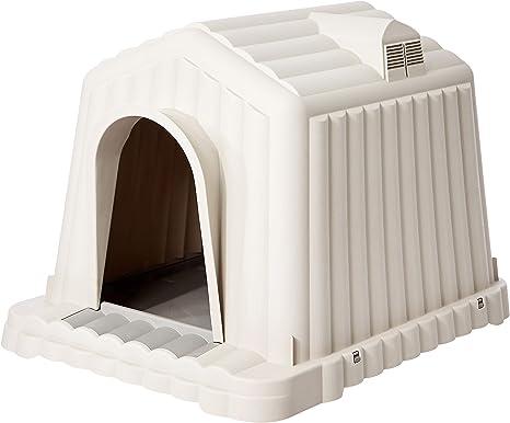 Amazon.com: AmazonBasics Casa para mascotas, interior ...