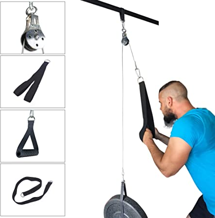 2m 5mm Fitness DIY Pulley Cable Rope Attachment Biceps Triceps Workout Equipment