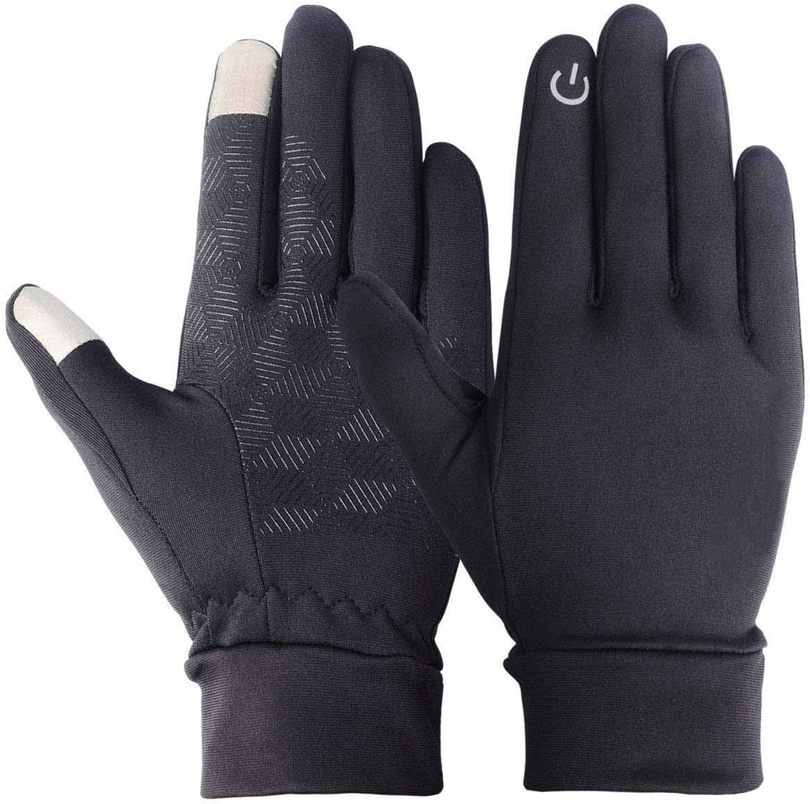 UMIPUBO Men Winter Touch Screen Gloves Windproof Outdoor Sports Gloves Cycling Gloves for Running Climbing Hiking Skiing Gloves