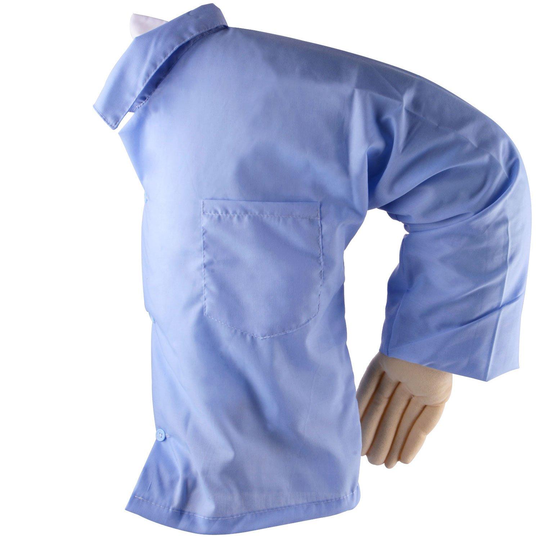 Novio brazo cuerpo almohada cama sofá cojín brazo Snuggle manta cojín para las mujeres solteras, luz azul Toyfun