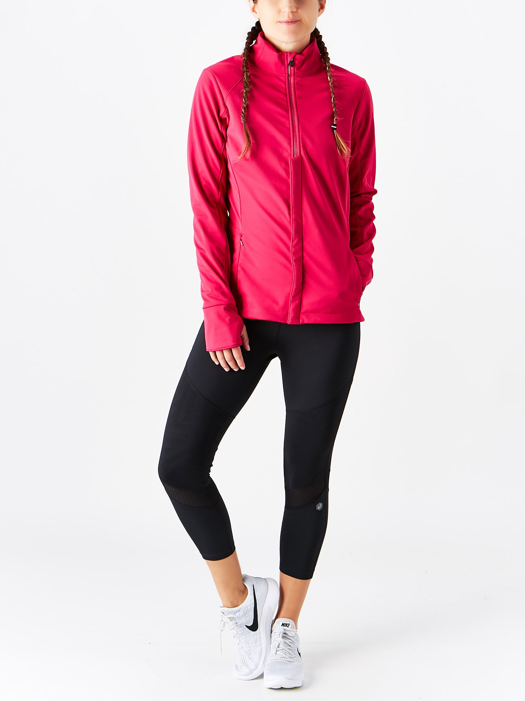 ASICS Womens Softshell Jacket, Performance Black, Small by ASICS (Image #8)