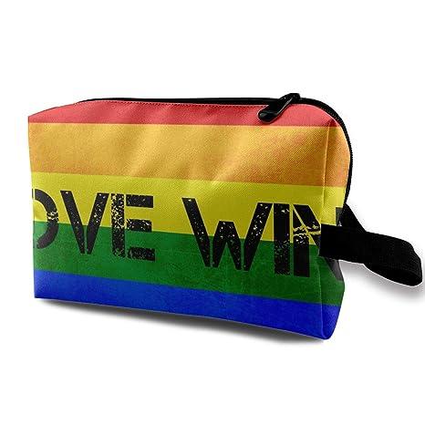 Gay Pride Love GANA Viaje Bolsas de Aseo Bolsas de ...