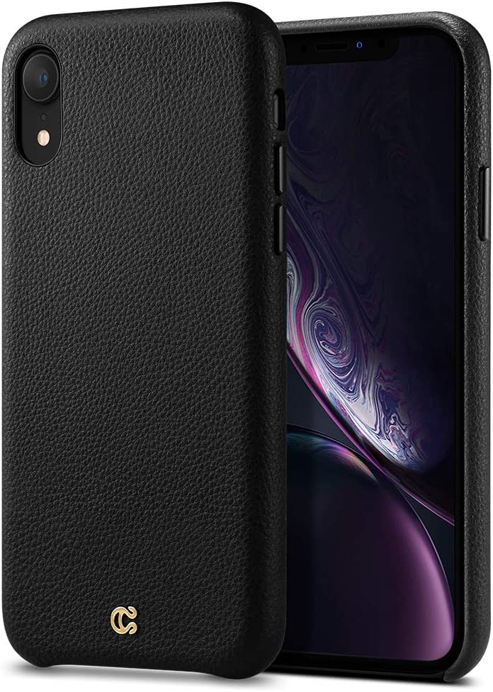 Funda para iPhone XR (2018) - CYRILL [Leather Collection]