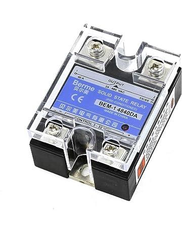 Relè a Stato Solido DC DC SSR 40DD 3-32 Volt DC input 5-200V DC Output 40AMP UK
