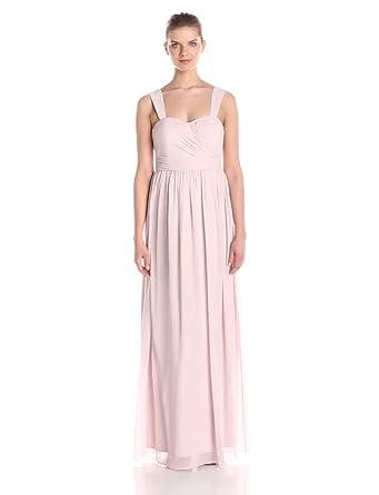 Donna Morgan Women\'s Bailey Lond Chiffon Gown at Amazon Women\'s ...