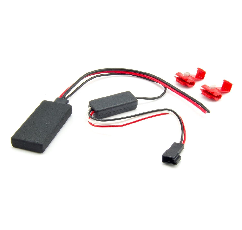 Watermark WM-BT27 Bluetooth Musik Adapter f/ür BMW E46 E87 E90 E91 E60 E61 X1 X3 X5