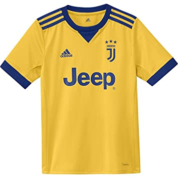 Amazon.com: adidas Juventus Away Youth Jersey [Amarillo ...