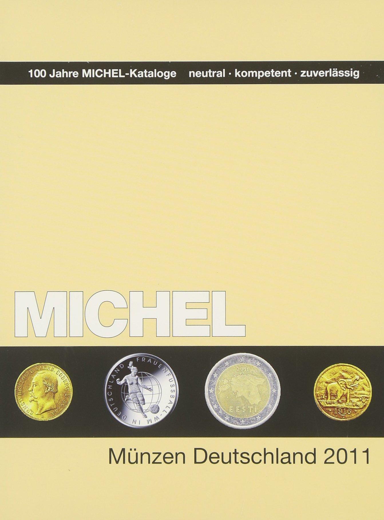 MICHEL-Münzen-Katalog Deutschland 2011