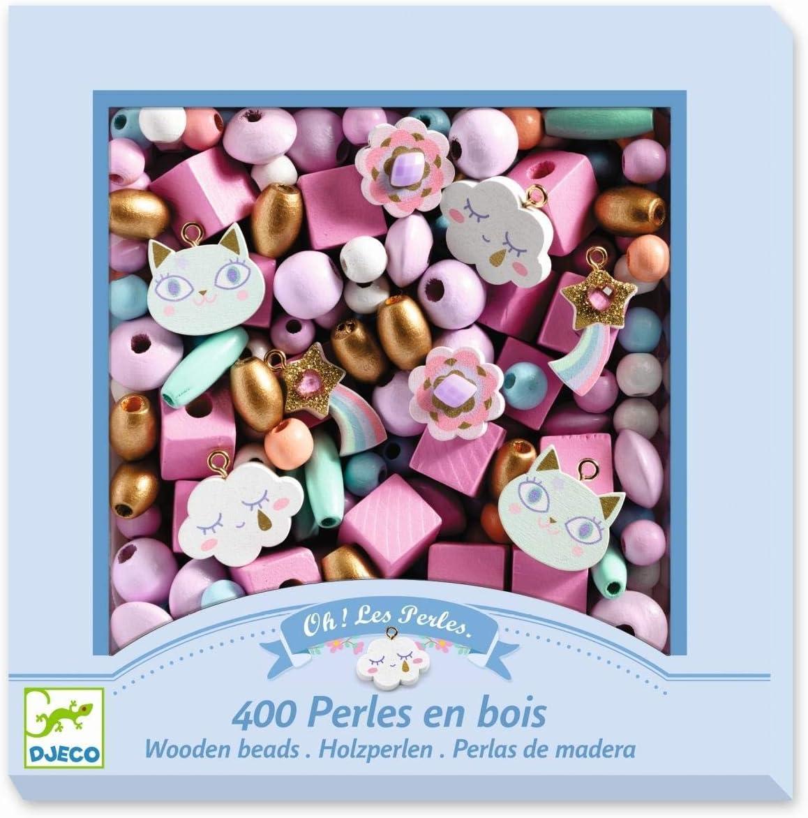 Arc-en-Ciel Djeco Perles Bois