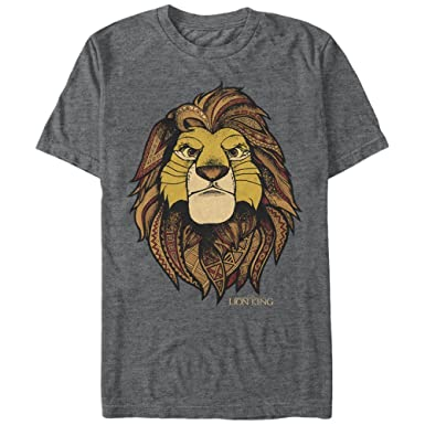 6f6b4cb8 Lion King Men's Noble Simba T-Shirt | Amazon.com