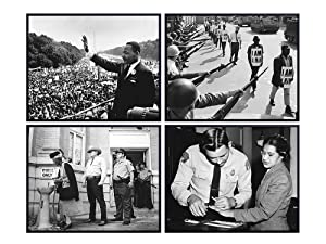 African American Heroes, Civil Rights Photos - 8x10 Photograph Set, Wall Decor for Living Room, Bedroom, Classroom - Gift for Teachers, Black History Month, Martin Luther King, MLK, Rosa Parks Fans