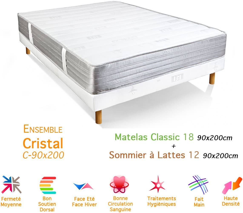Total Classic-colchón somier 18/12, 90 x 200 cm: Amazon.es: Hogar