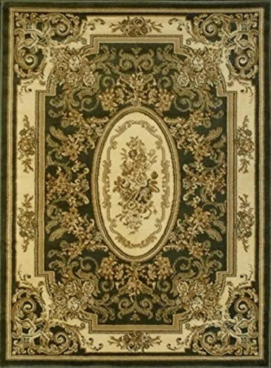 Traditional Green Rug 1833 Bellagio 8 Ft. X 10 Ft. 6 In.