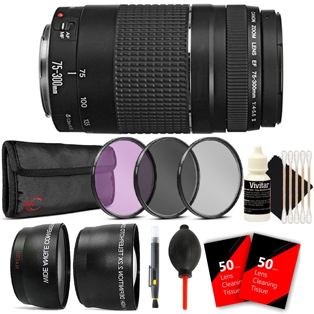 Canon EF 75 – 300/ mm f 5.6/ 4 760d – 5.6 III USM望遠ズームレンズfor Canon EOS 750d 760d 650d 600d withアクセサリー B075RPYWWT, 岐阜県神戸町:1ca5dc78 --- ijpba.info