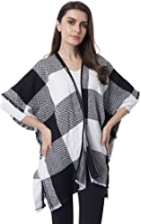 White and black Stripe Pattern 100/% Polyester Kimono Cover-ups 33.47x35.43/""