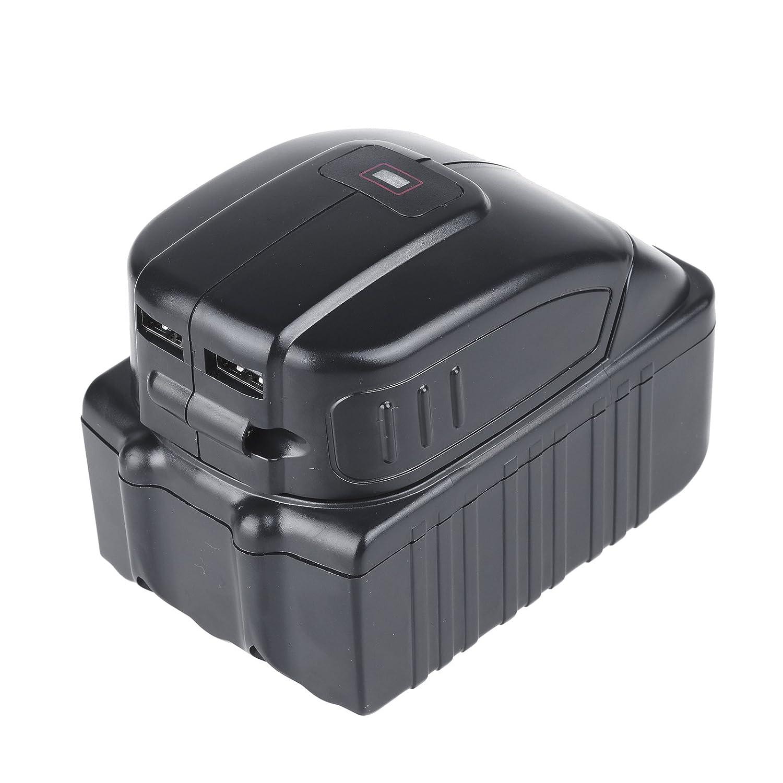 Vinteky/® USB Ausgang Adapter f/ür 14.4//18V Makita Batterie BL1430 BL1440 BL1830 BL1840