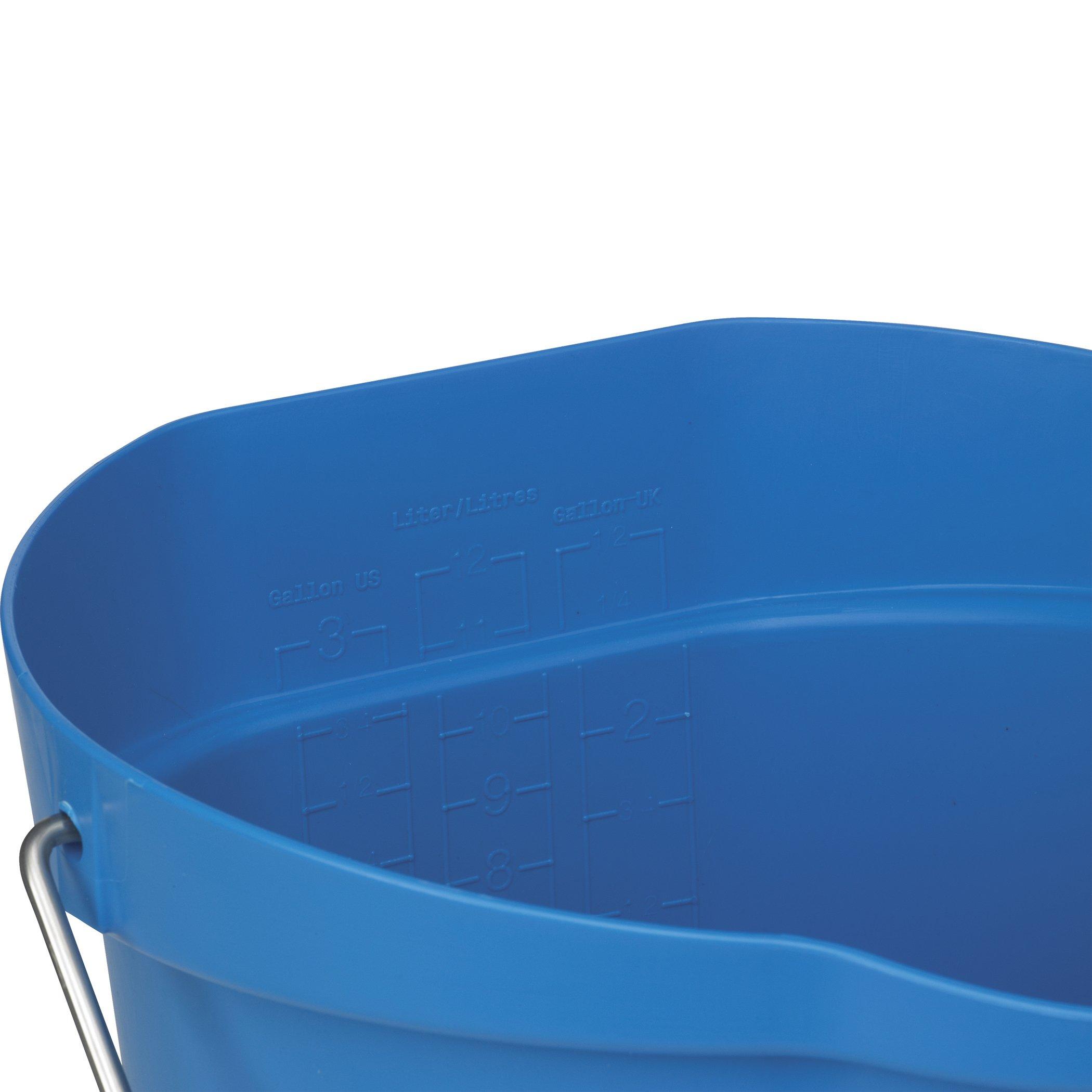 Hygienic Pail, 3 gal, Blue