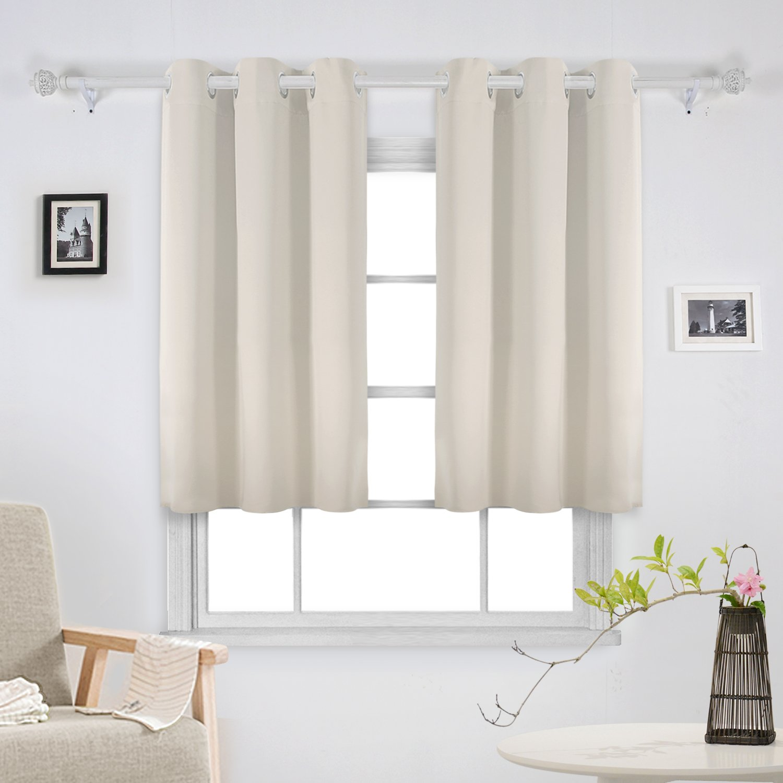 Deconovo Room Darkening Thermal Insulated Blackout Grommet Window ...