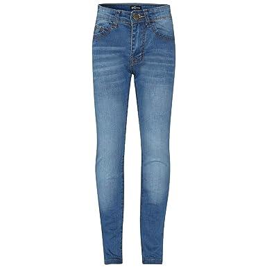 eeb50f0fcf A2Z 4 Kids A2Z 4 Kids® Kinder Mädchen Dünn Jeans Mid Blau Designer Denim  Dehnbar Hosen Mode Passen Hose Alter 5 6 7 8 9 10 11 12 13 Jahre  Jeanshosen: ...