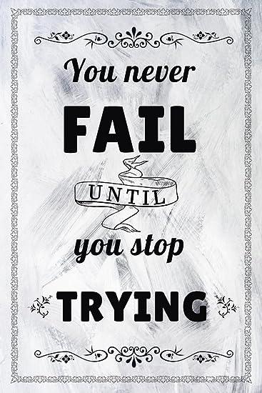 Football Quote 1 Inspiration Motivation Dedication Black /& White Print Poster